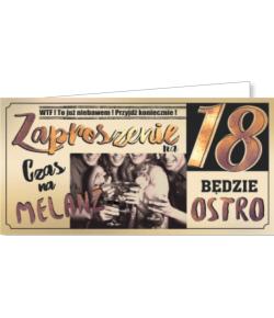 Zaproszenie na 18-tkę ZAB18