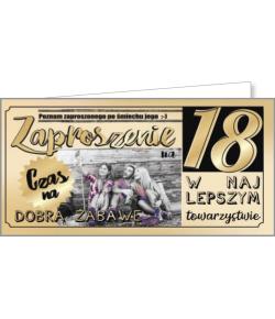 Zaproszenie na 18-tkę ZAB45