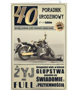 Kartka na 40 urodziny U10