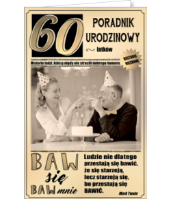 Kartka na 60 urodziny U12
