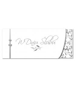 Kartka na ślub Delikatna...