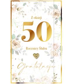 Kartka z okazji 50 rocznicy...