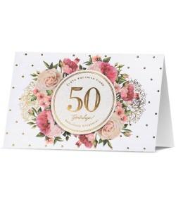 Kartka na 50 Rocznicę Ślubu...