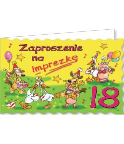Zaproszenie na 18-tkę ZA54