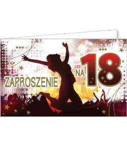 Zaproszenia na 18-tkę ZZ07
