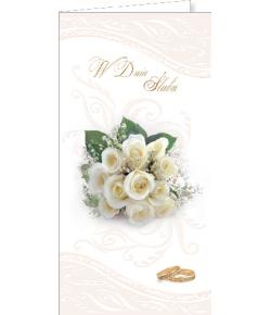 Kartka na ślub DSL 01