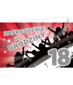 Zaproszenia na 18-tkę ZZ05