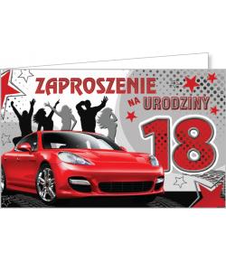 Zaproszenie na 18-tkę ZZ02
