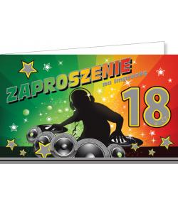 Zaproszenia na 18-tkę ZZ01
