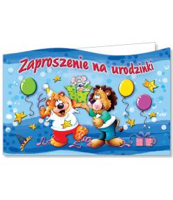 Zaproszenie na urodzinki ZA 22