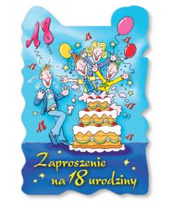 Zaproszenie na 18-tkę ZA52
