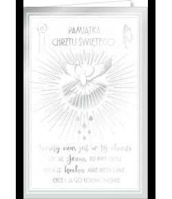 Kartka na Chrzest św CHAB7