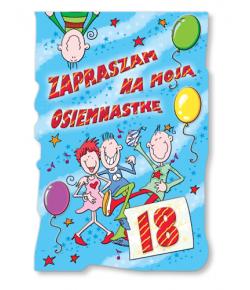 Zaproszenie na 18-tkę ZA32
