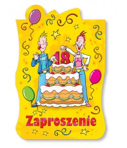 Zaproszenie na 18-tkę ZA34