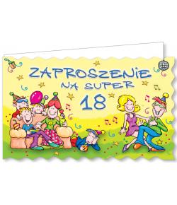 Zaproszenie na 18-tkę ZA50