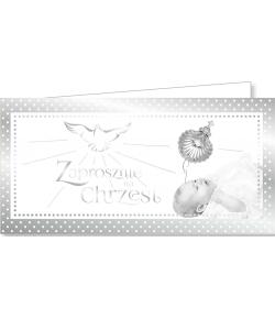 Zaproszenie na Chrzest ZAB 42