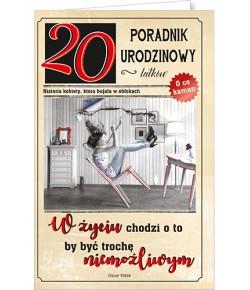Kartka na 20 urodziny U53