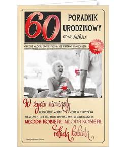 Kartka na 60 urodziny U56