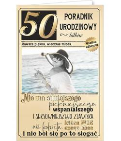 Kartka na 50 urodziny  U 77