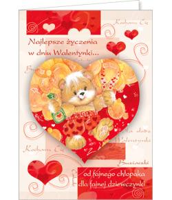 Karnet Walentynkowy VL 21