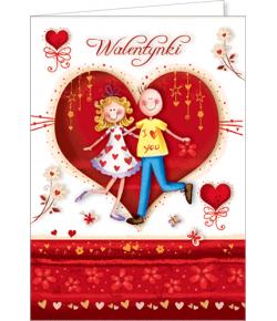Kartka na Walentynki VL 26