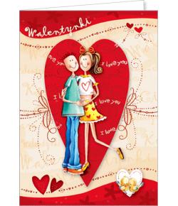 Karnet Walentynkowy VL 30