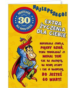 Kartka na 30 urodziny Party06