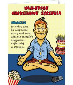 Kartka urodzinowa Comic 03