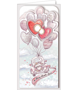 Kartka ślubna DS 04