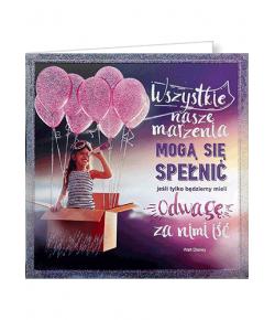 Kartka dla dziewczynki KWT 05