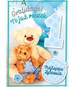 Kartka na Roczek GM601