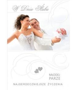 Kartka na ślub ST08