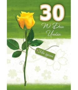 Urodziny z cyfrą lat GAU 03