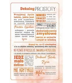 Dekalog Prostoty T 01