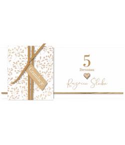5 Rocznica ślubu drewniana...