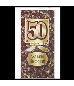 Życzenia na 50-te urodziny...