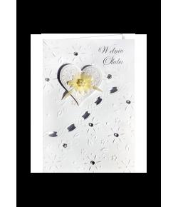 Elegancka kartka na ślub M8...