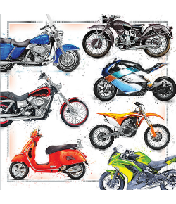 Kartka dla motocyklisty KW 11