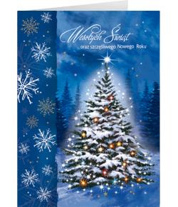Świąteczna Choinka kartka z...