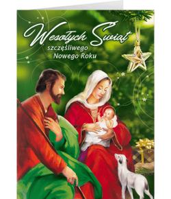 Święta Rodzina kartka z...