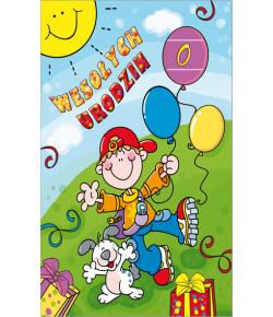 Kartka urodzinowa PR07