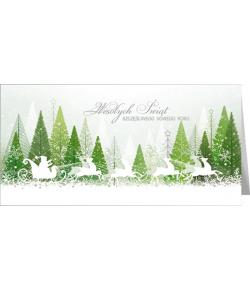 Kartka świąteczna wesoła...