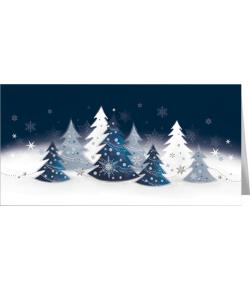 Świąteczny pejzaż zimowy...