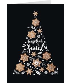 Karnet świąteczny z tekstem...