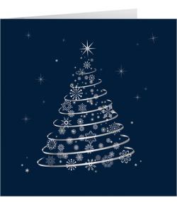 Karnet świąteczny firmowy z...