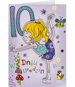 Kartka na 10 urodziny dla...