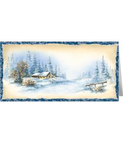 Zimowy pejzaż świąteczny...