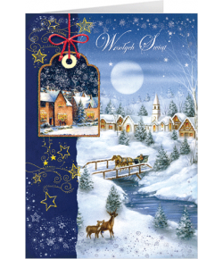 Kartka Bożonarodzeniowa  z...