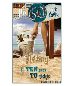 Kartka na 60 urodziny dla...