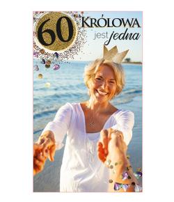 Kartka z okazji  60 urodzin...